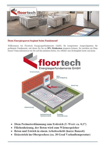 Floortech Energiesparfundamente Gmbh By Floortech Fundamente Issuu