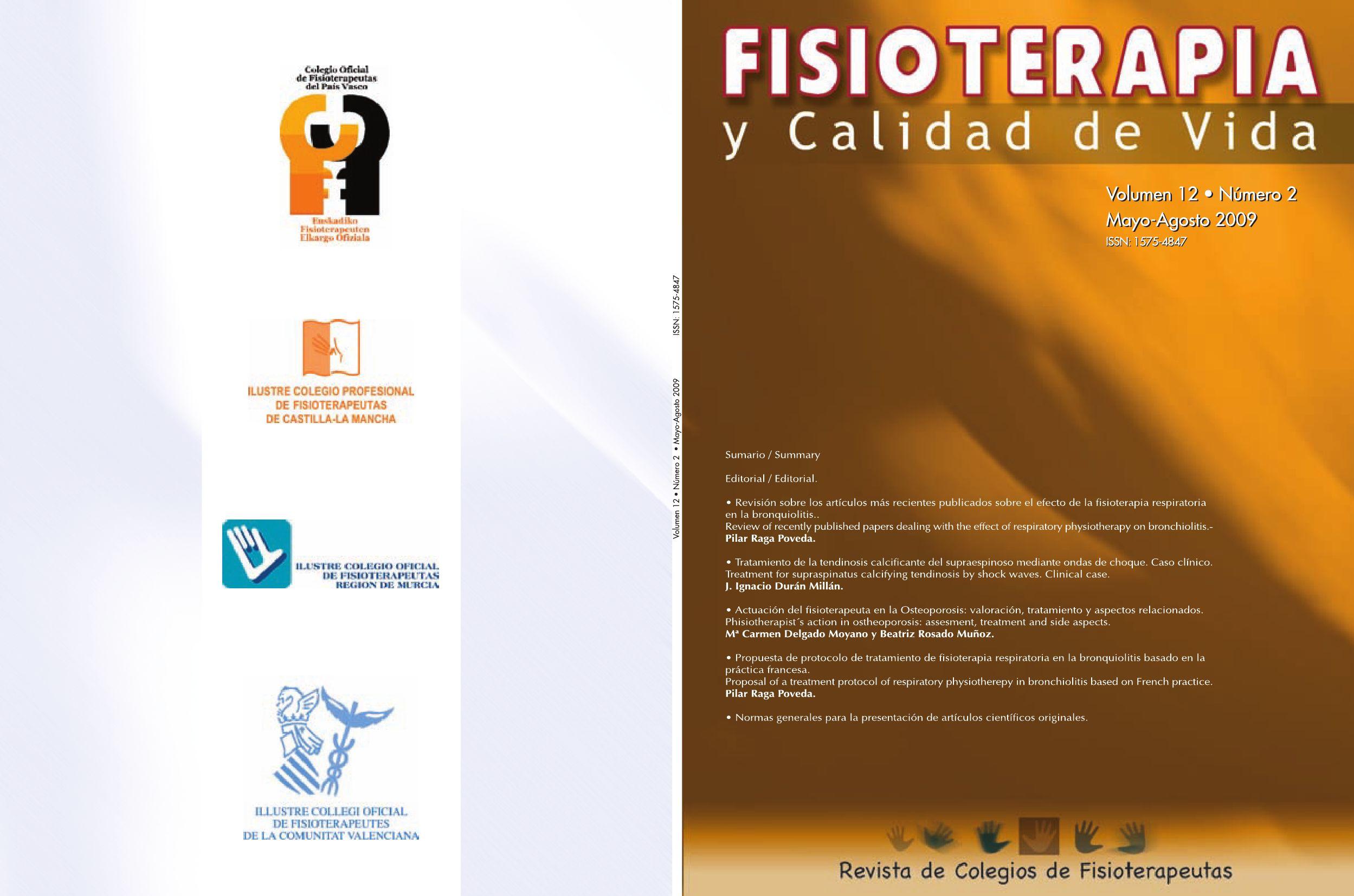 FISIOTERAPIA Y CALIDAD DE VIDA by ICOFCV - issuu
