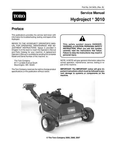 04134sl pdf hydroject 3010 (rev  b) aug, 2007