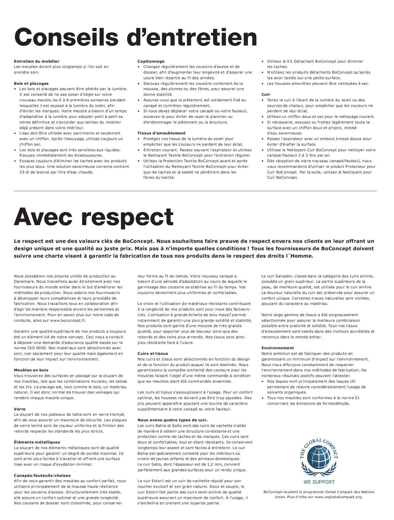 Entretien Du Cuir D Ameublement design catalogue boconcept 2010boconcept - issuu