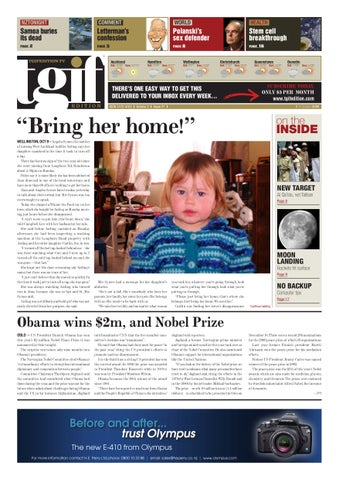 Tgif Presidential Countdown Just 361 >> Tgif Edition 9 October 09 By Investigate Magazine Issuu