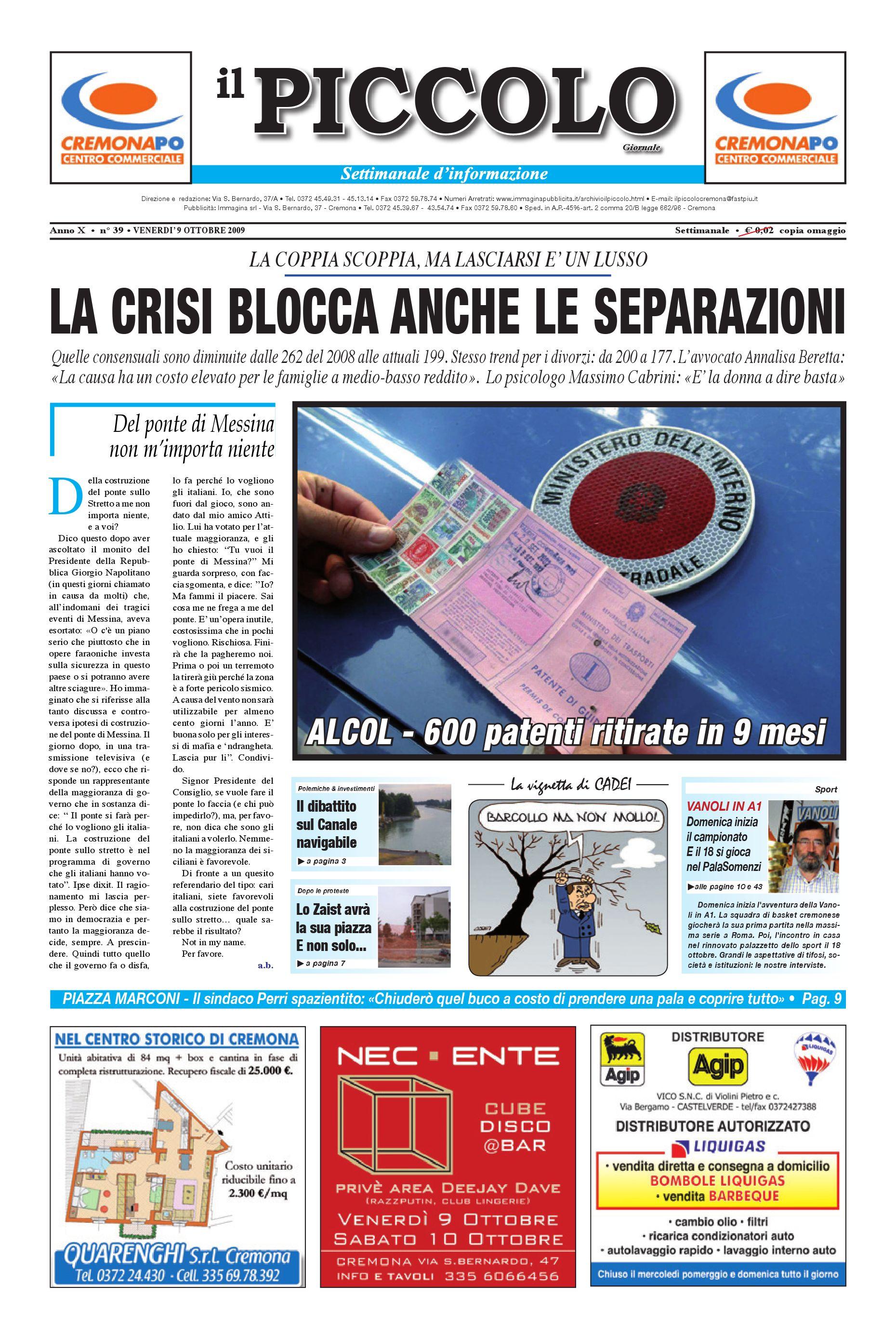 Il PIccolo Cremona by promedia promedia - issuu 9c7d7cd88f1d