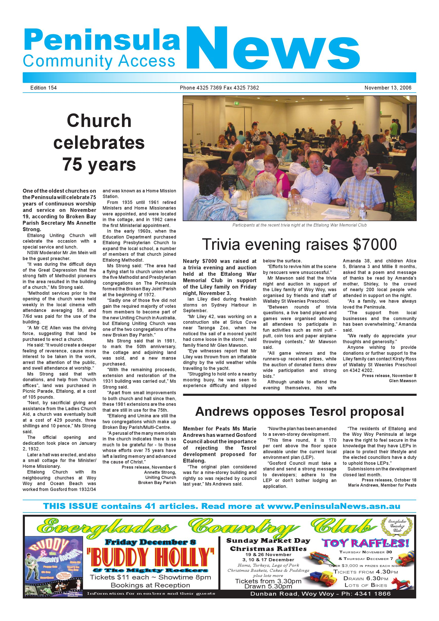 peninsula news 154 by mark snell issuu