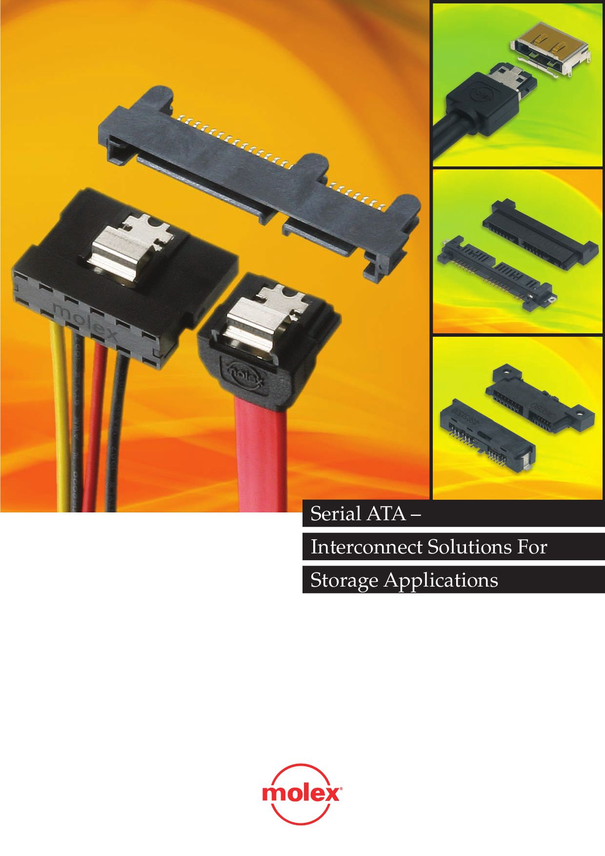 Serial Ata Products By Molex Issuu Sata Signal And Power Adapter Cable One Combo To Connect