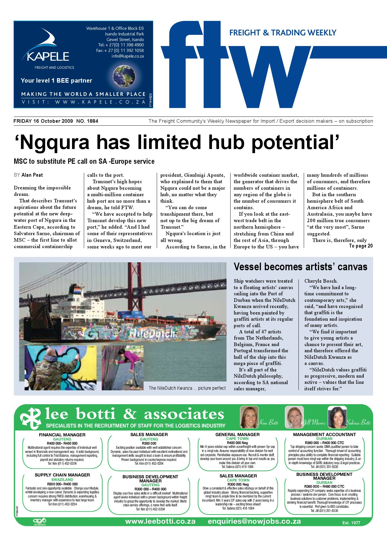 5bb4eac3035 Freight   Trading Weekly by Now Media - issuu