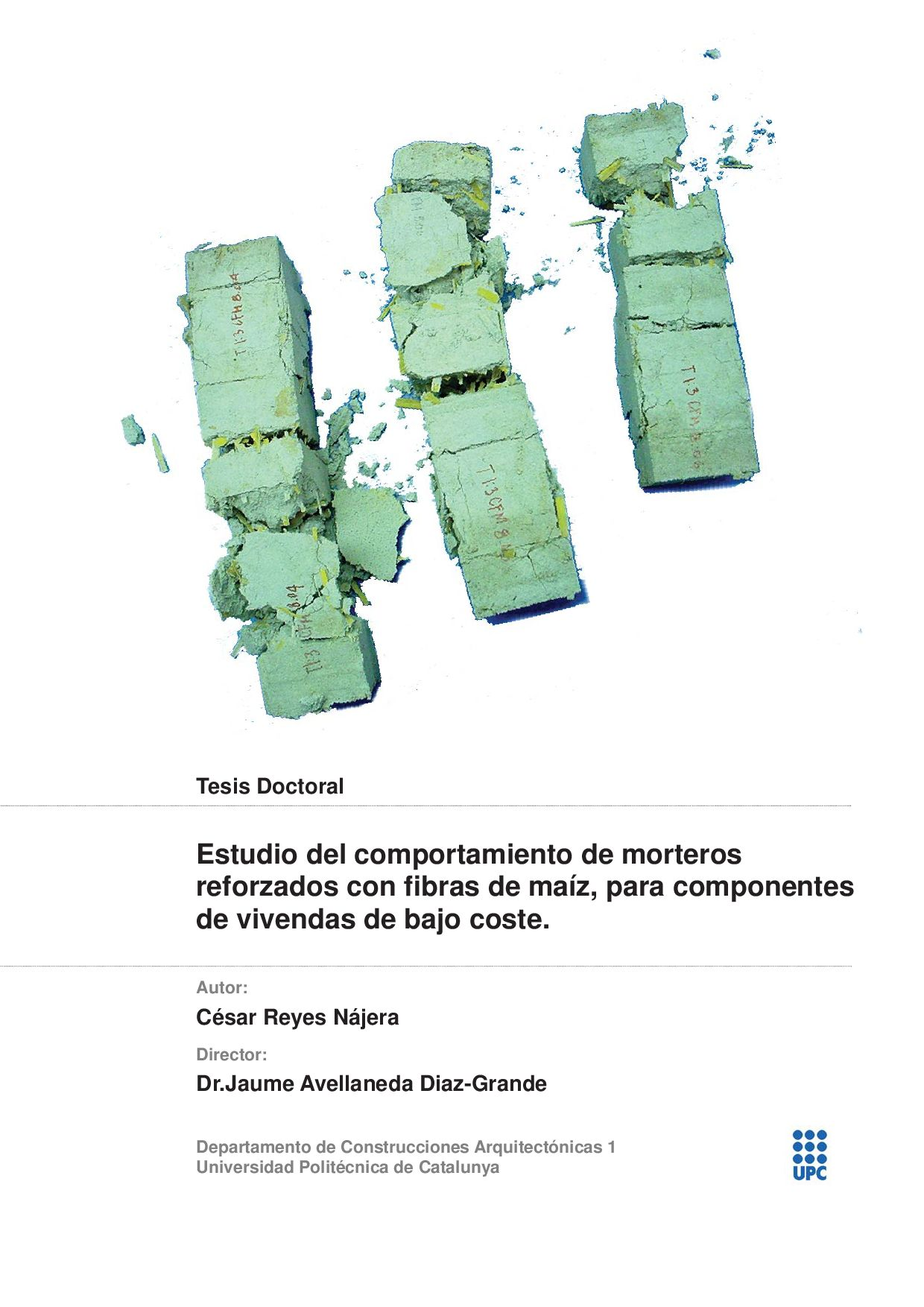 Estudio de compositos de cal y fibras de maíz by dpr-barcelona - issuu