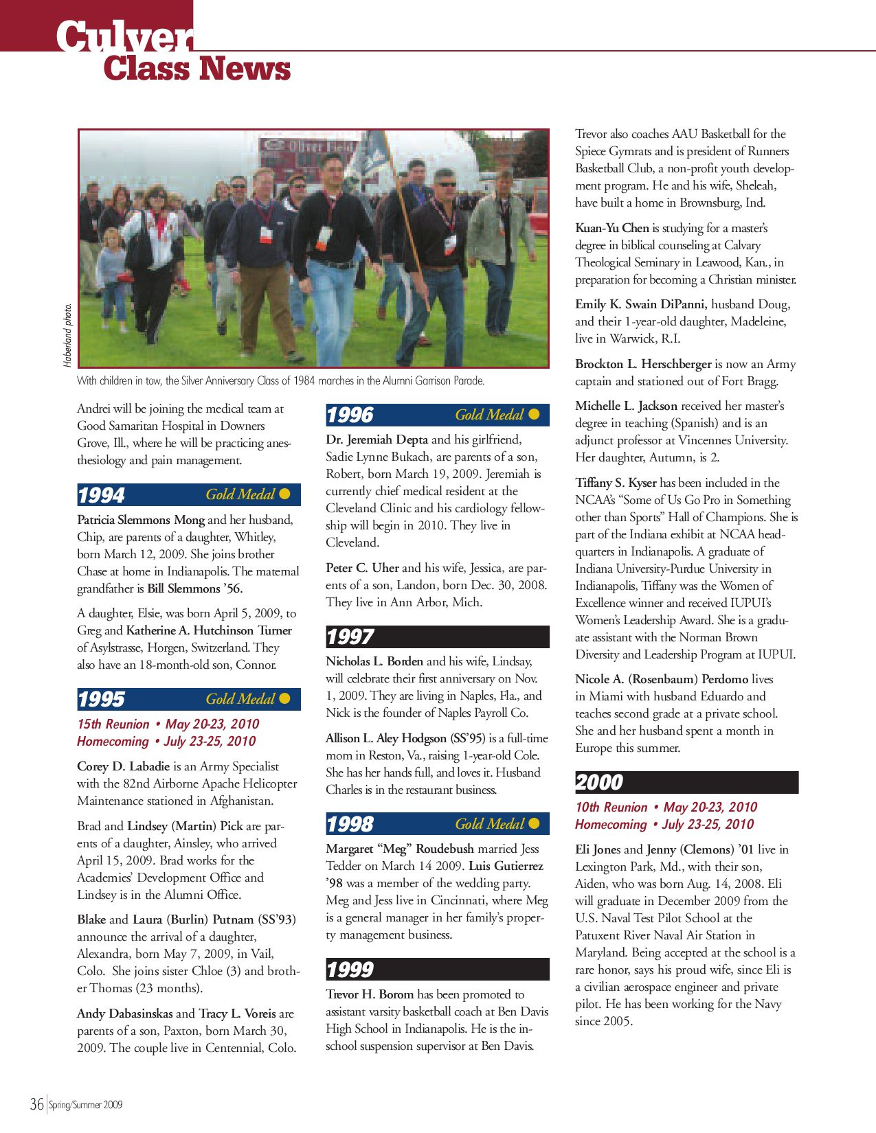 A-Mag, 2009 Spring/Summer by Culver Academies - issuu
