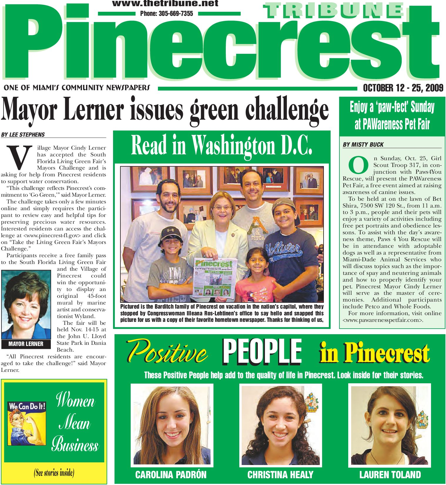 Pinecrest Tribune October 12 Edition Local Events Positive News Corolla Radio Wiring Diagram Likewise Petsmart Dog Seat Belt Harness Miami By Community Newspapers Issuu
