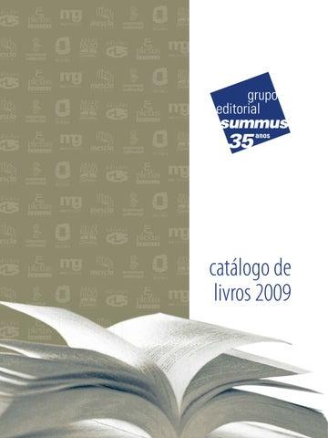 257bd86ce7d Catálogo de Livros - Grupo Editorial Summus - 2009 by Grupo ...