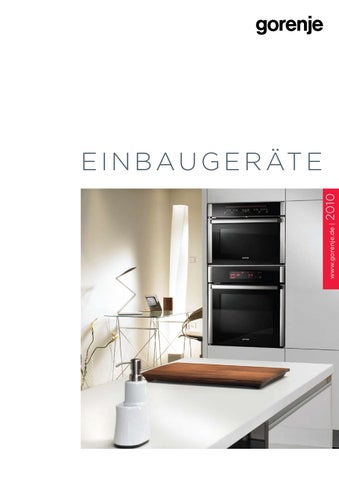 Einbaugerate Katalog Dunn Germany By Gorenje D D Issuu