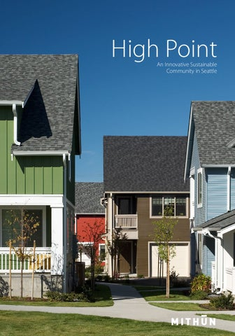 High Point Affordable Housing Project Profile by Mithun - issuu