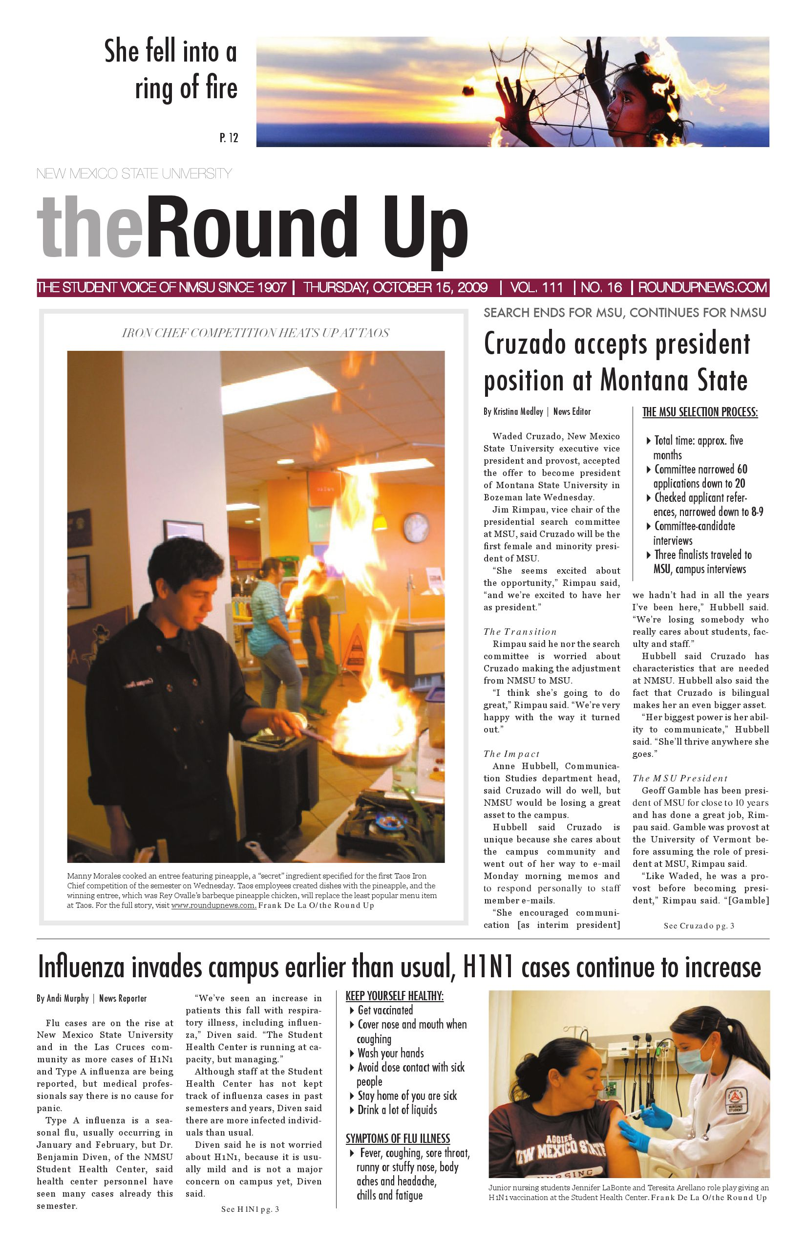 10 15 09 By The Round Up At New Mexico State University Issuu