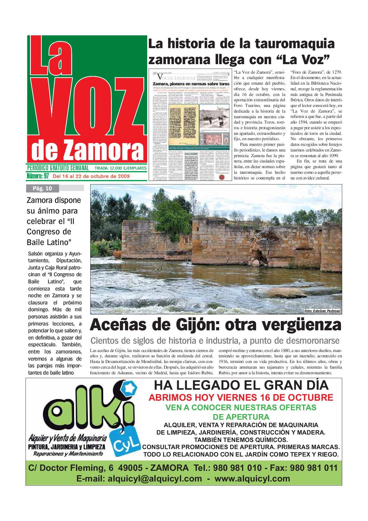 LA VOZ DE ZAMORA 0097 by La Voz de Zamora - issuu