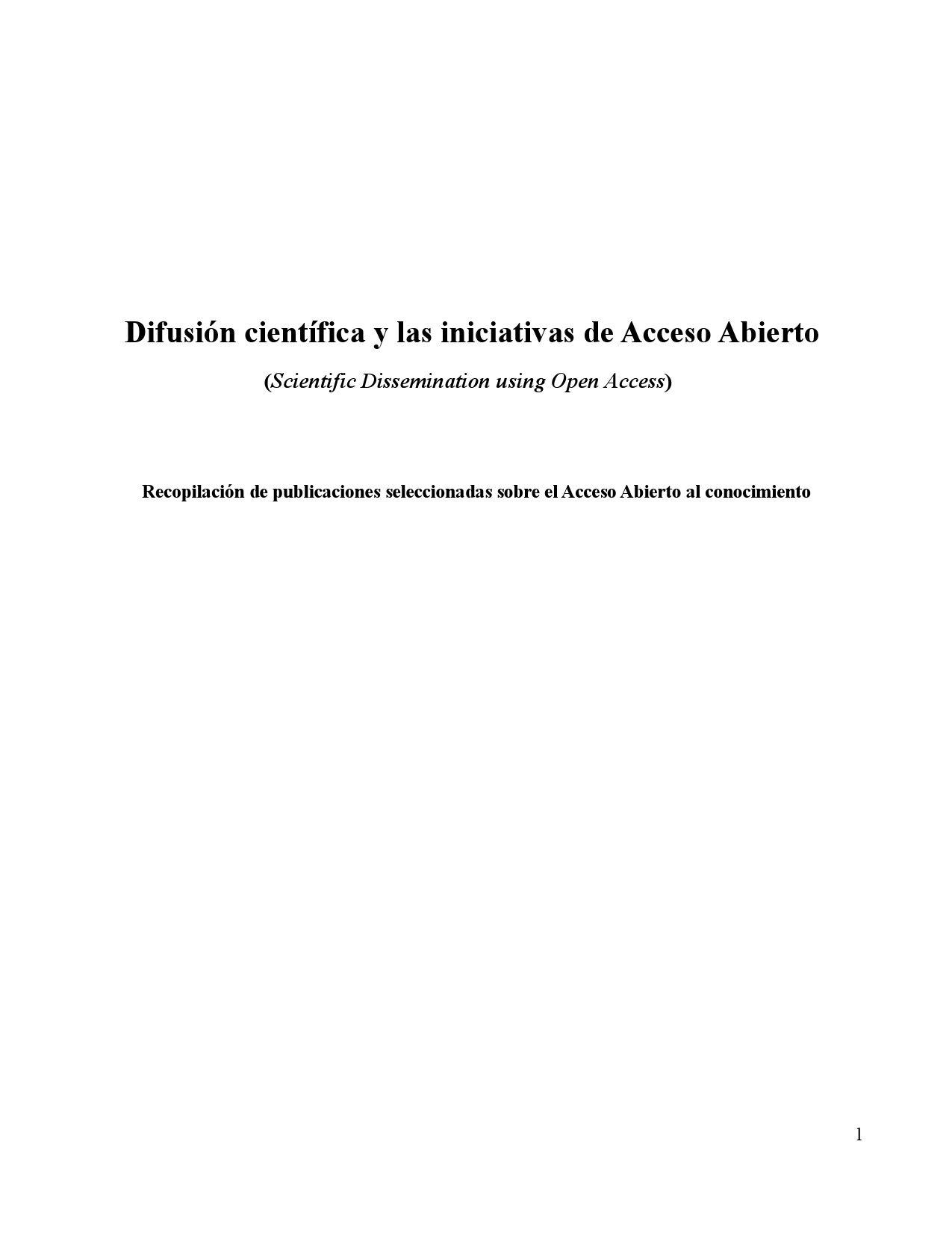 Iniciativas de Acceso Abierto by Rodrigo Torrens - issuu