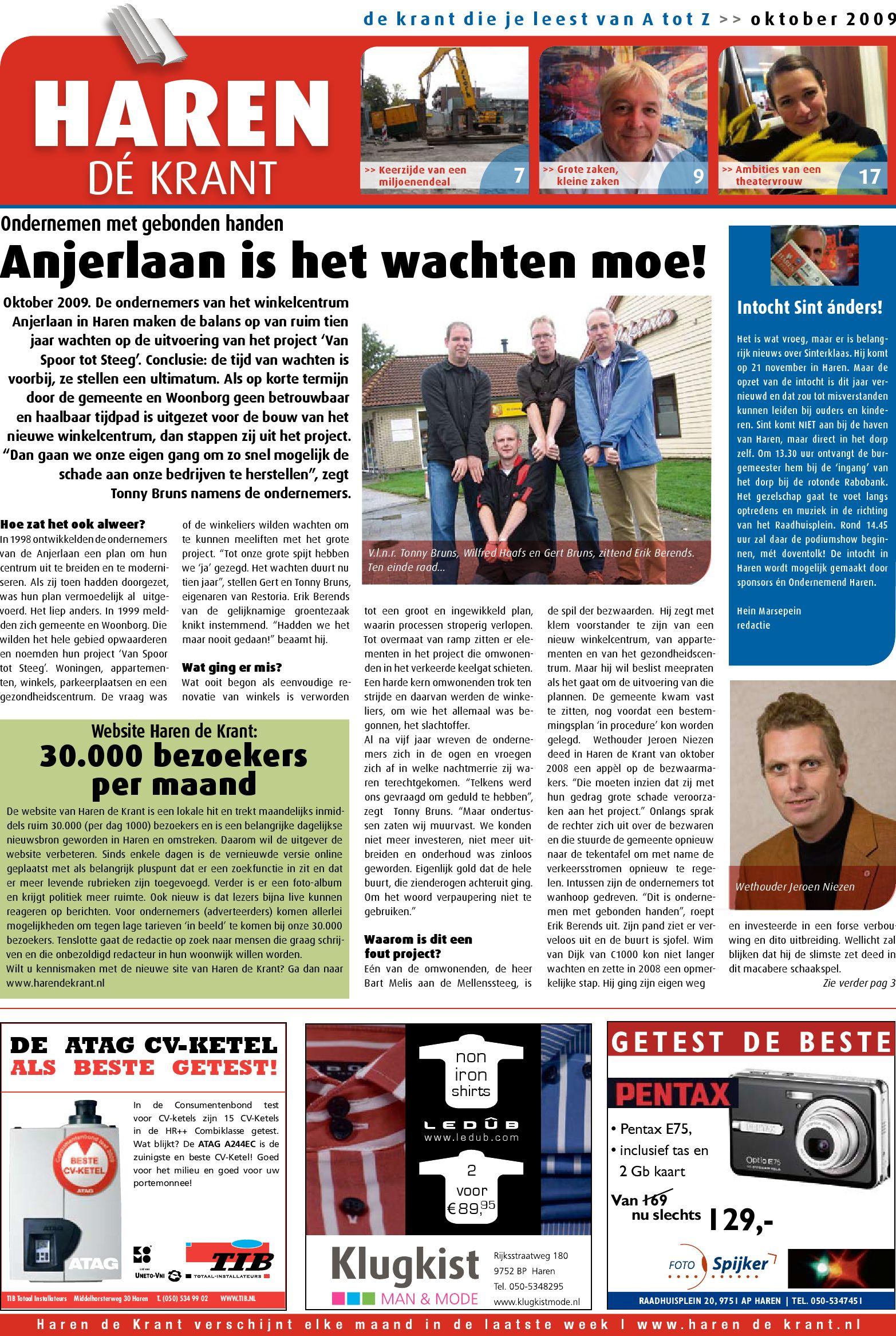 63cd7abe561 Haren de Krant oktober 2009 by Haren de Krant - issuu
