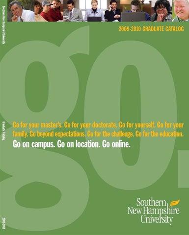 Snhu Academic Calendar.2009 2010 Graduate Catalog By Southern New Hampshire University Issuu