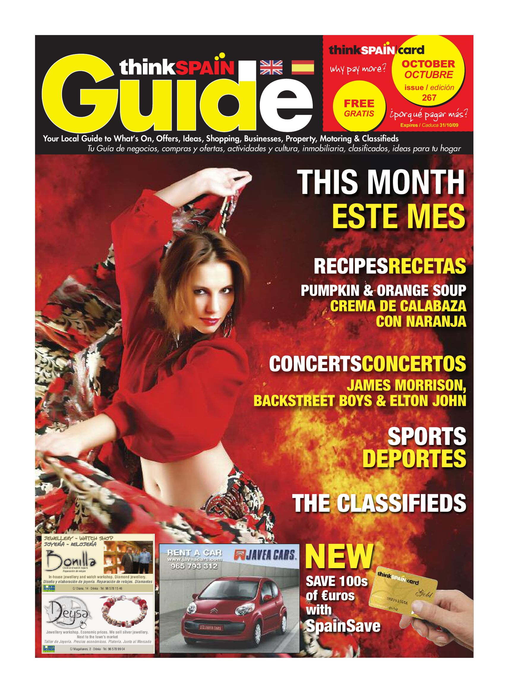 16311ca962006 Think Spain Guide Issue 267 by Anita Coscolin - issuu