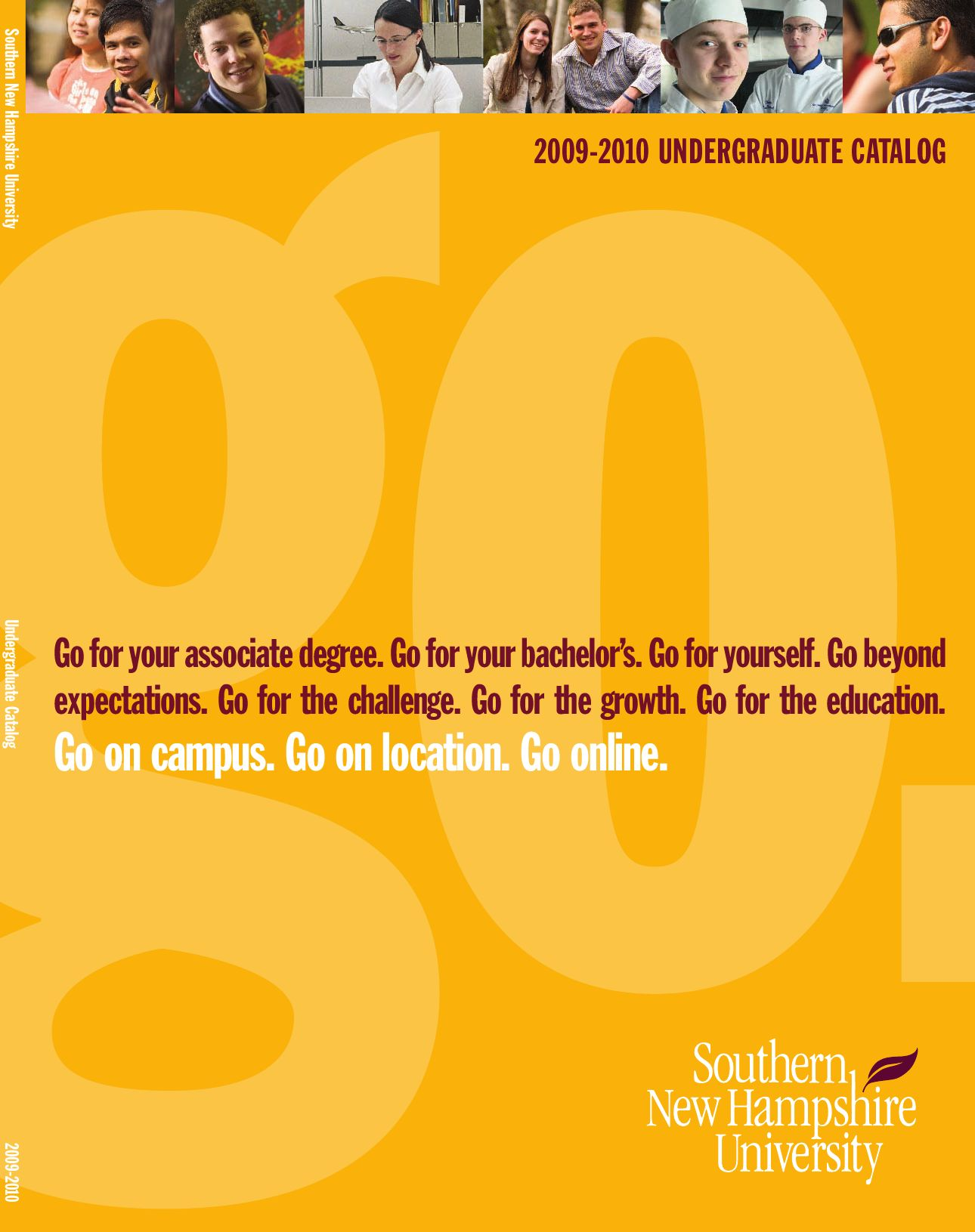SNHU Undergraduate Catalog 2009 2010 by Southern New Hampshire