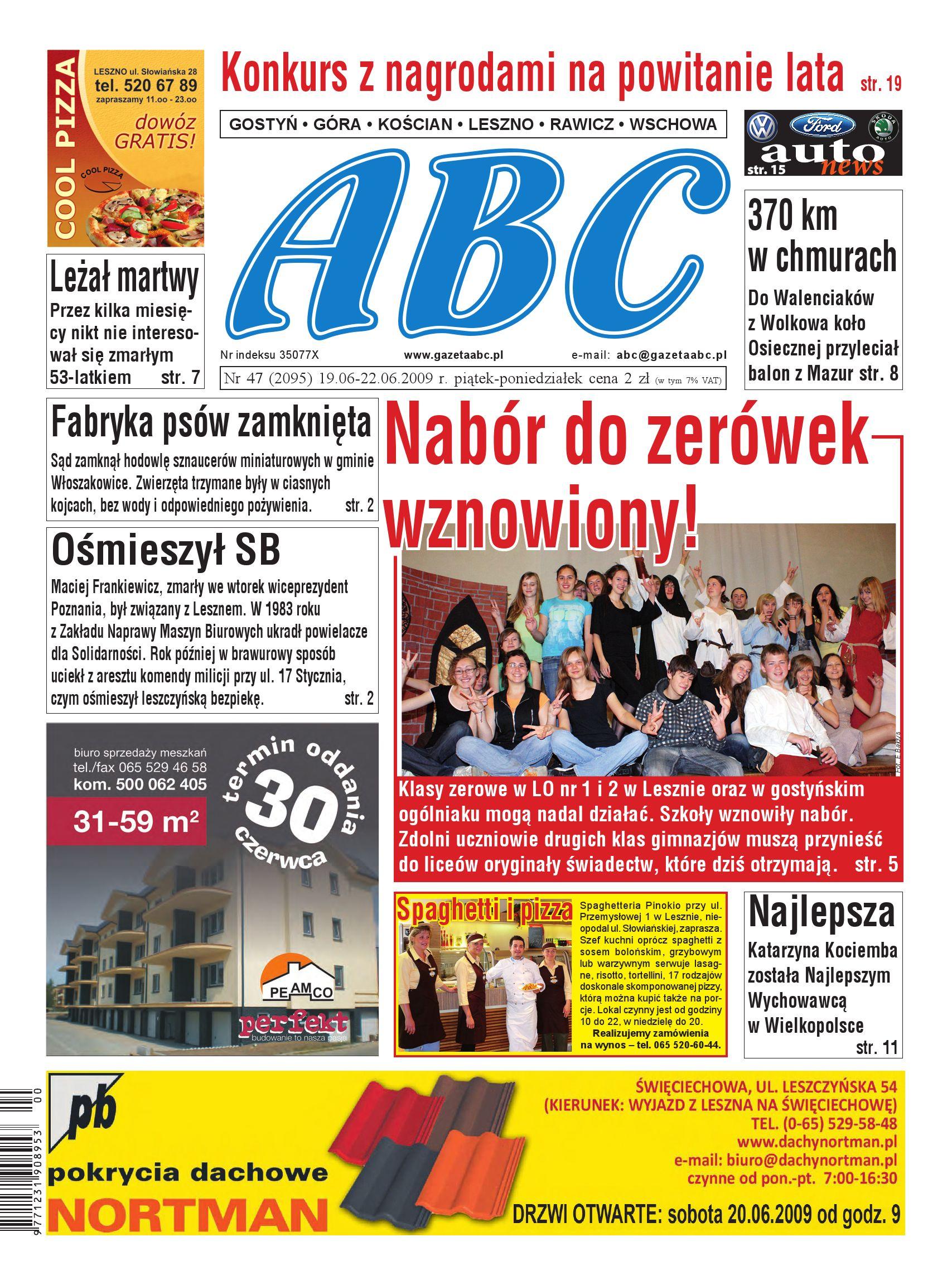 Gazeta Abc 19 Czerwca 2009 By Sekretarz Redakcji Issuu