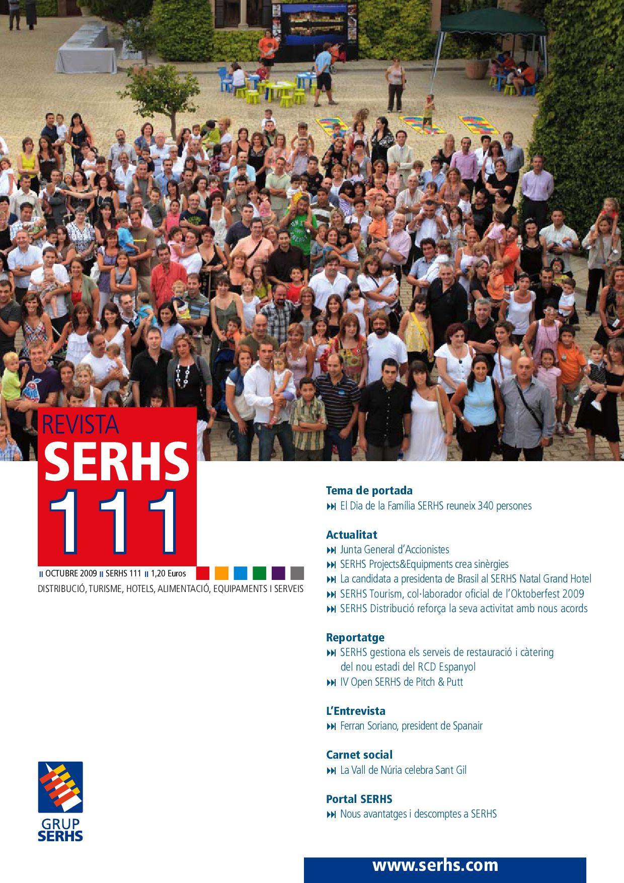 Revista Serhs 111 Cat By Migjornser Issuu