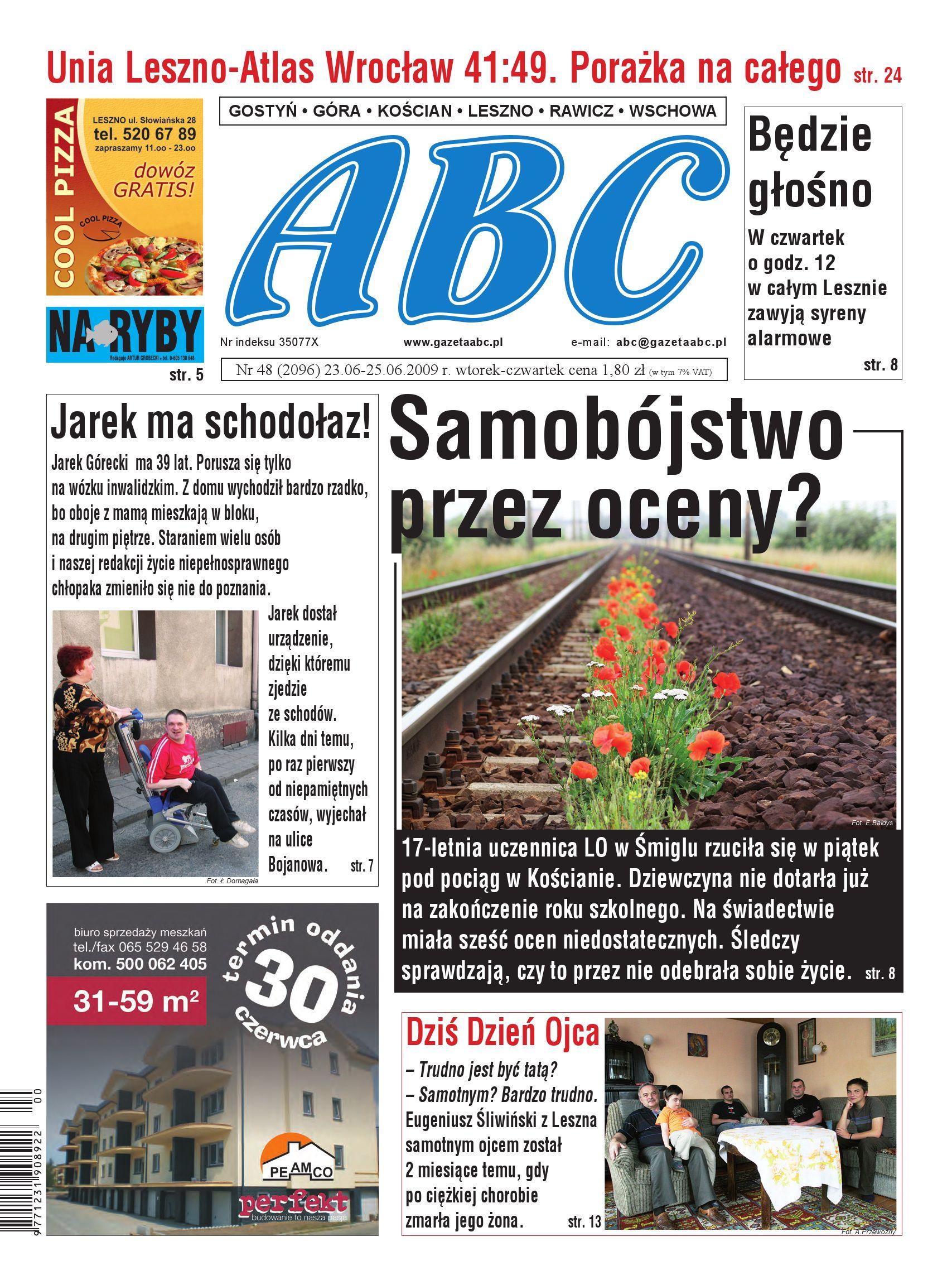 Gazeta Abc 23 Czerwca 2009 By Sekretarz Redakcji Issuu