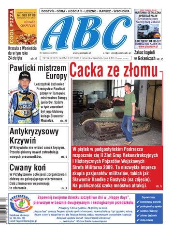 Gazeta Abc 14 Lipca 2009 By Sekretarz Redakcji Issuu
