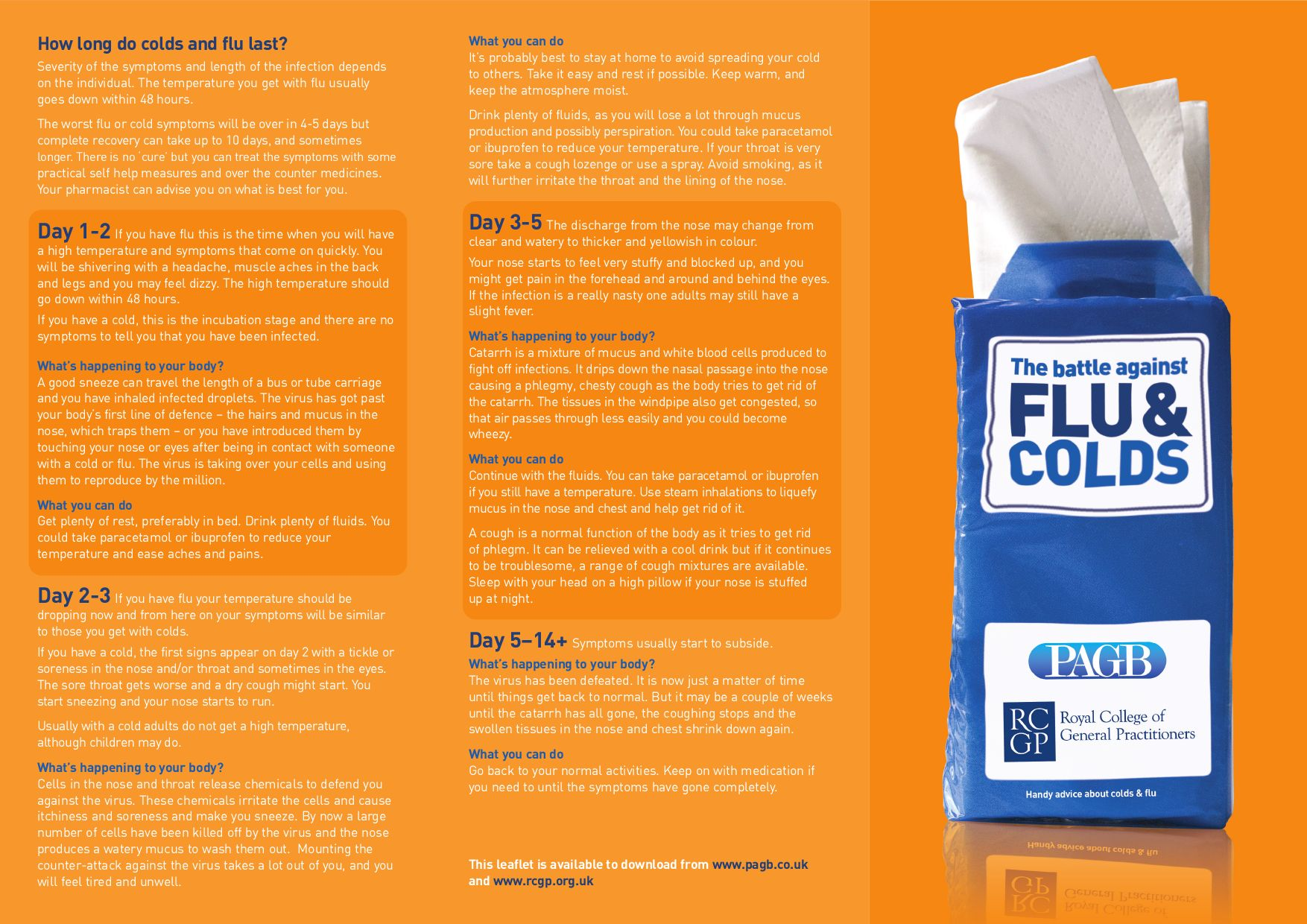 http://www rcgp org uk/PDF/The_Battle_Against_Cold_And_Flu by Royal