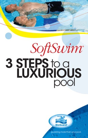 3 STEPS to a LUXURIOUS pool
