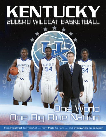 5dffb56af 2009-10 UK Men s Basketball Yearbook by University of Kentucky ...