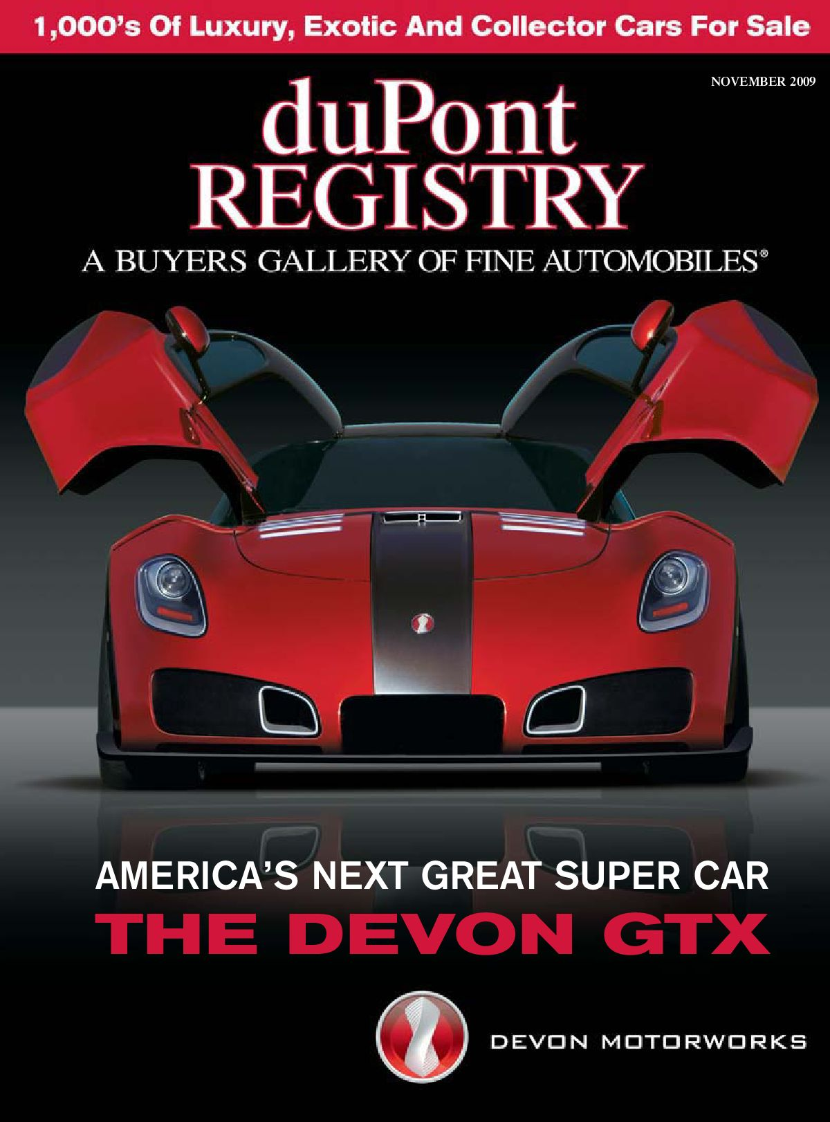 duPontREGISTRY Autos November 2009 by duPont REGISTRY issuu