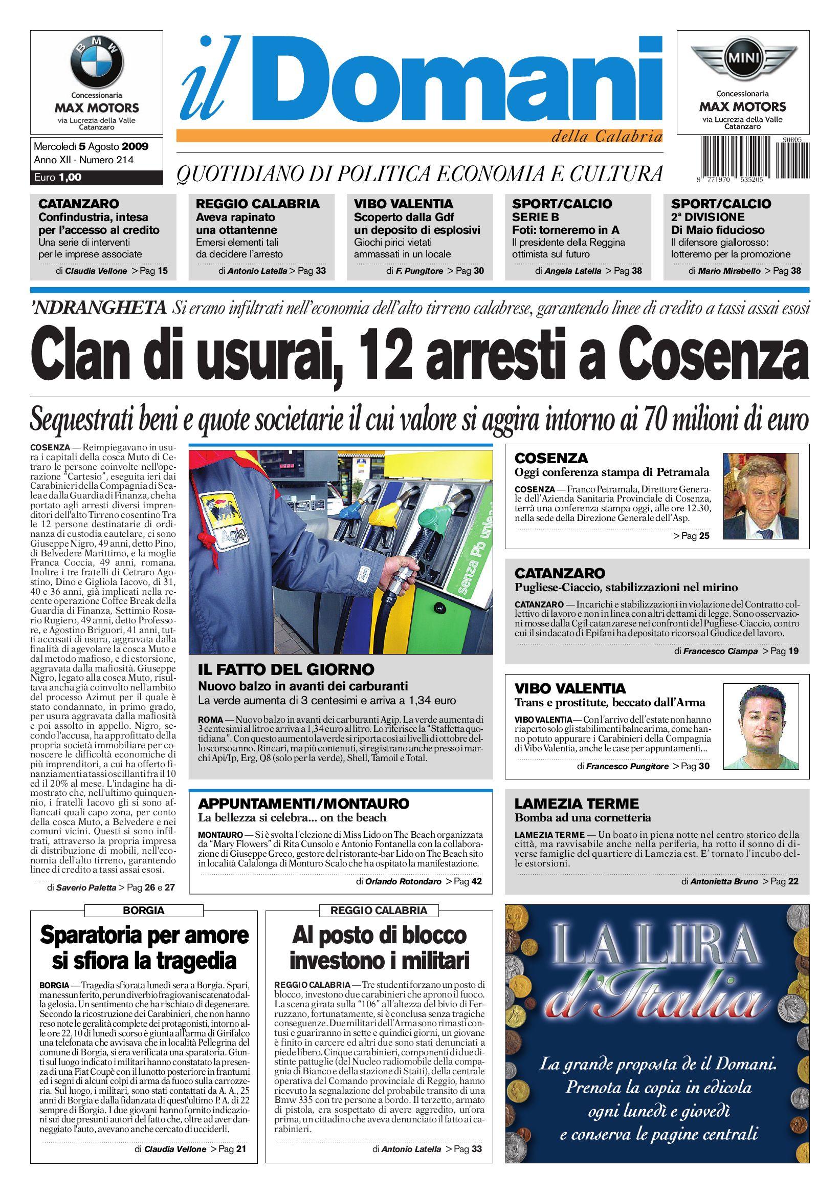 Ildomani By T P Editori Il Domani Issuu
