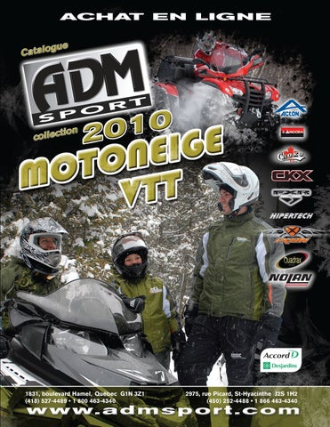 ADM Sport - Catalogue Motoneige VTT 2010 by ADM Sport - issuu 7502e98546f