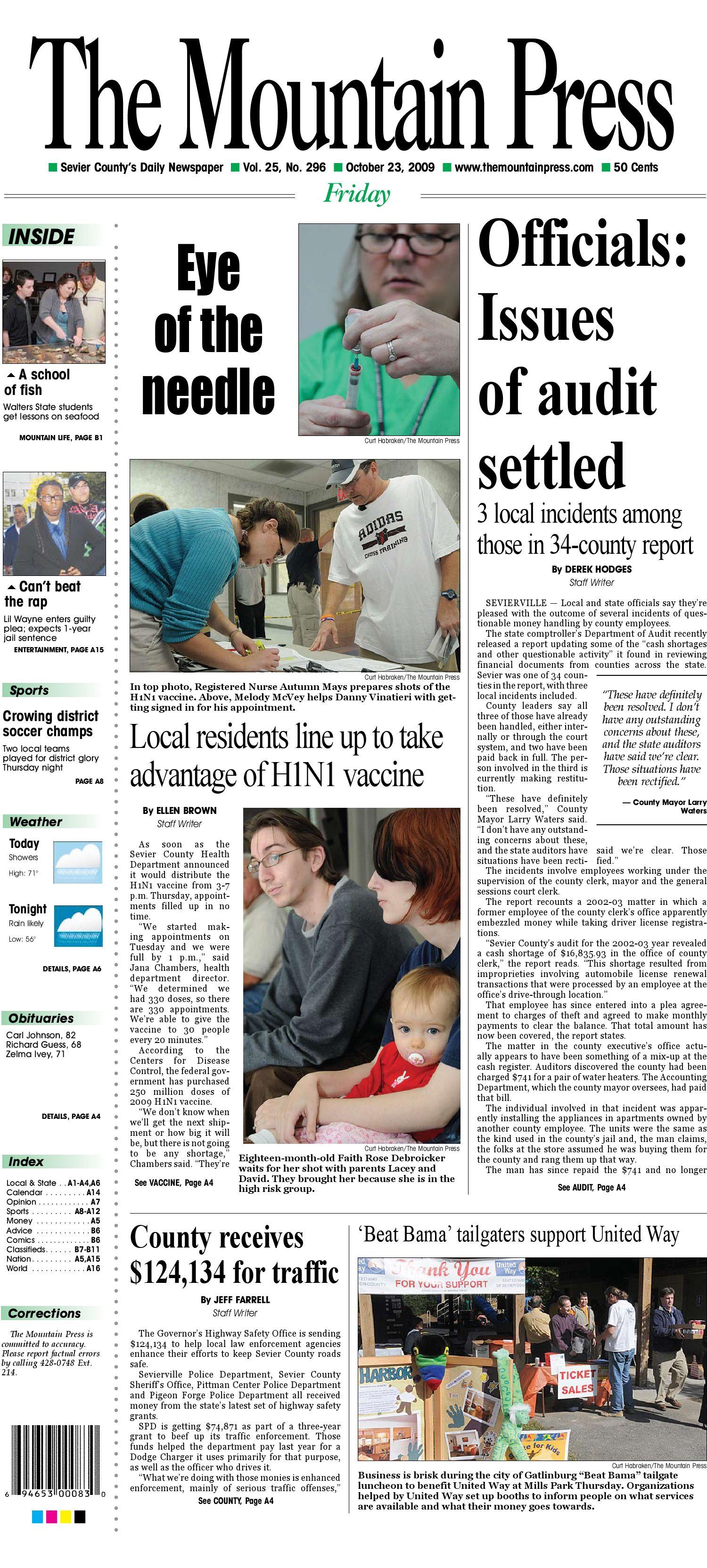 October 23 2009 by Shawn Breeden issuu