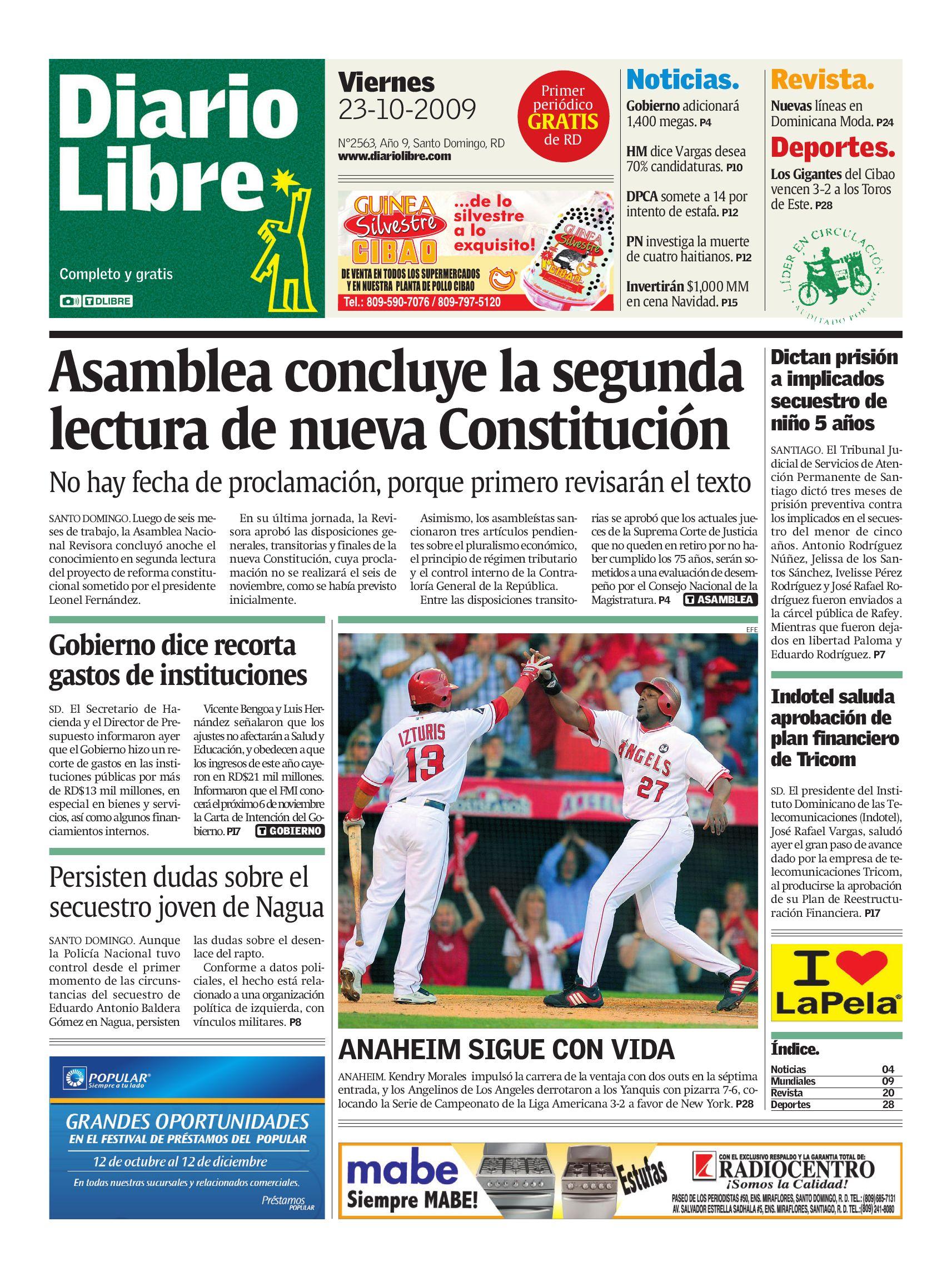diariolibre2563 by Grupo Diario Libre, S. A. - issuu