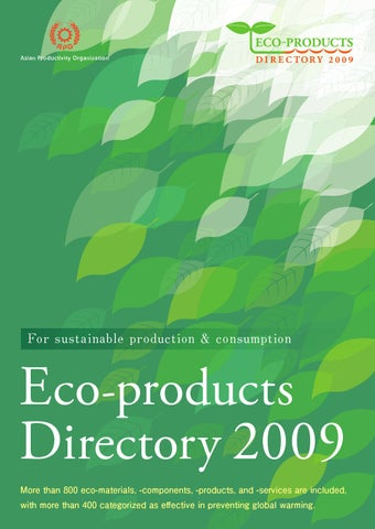 ECO PRODUCTS ASIA by Green Productivity - issuu 31868208807f7