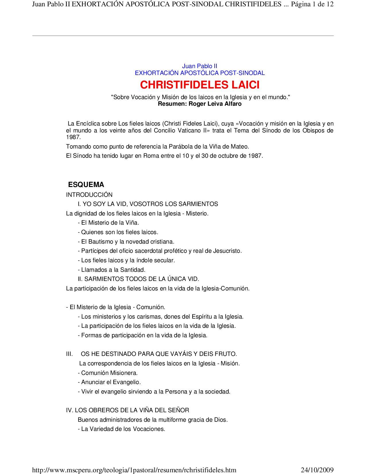 Enciclica Fe Y Razon Juan Pablo Ii Pdf Download