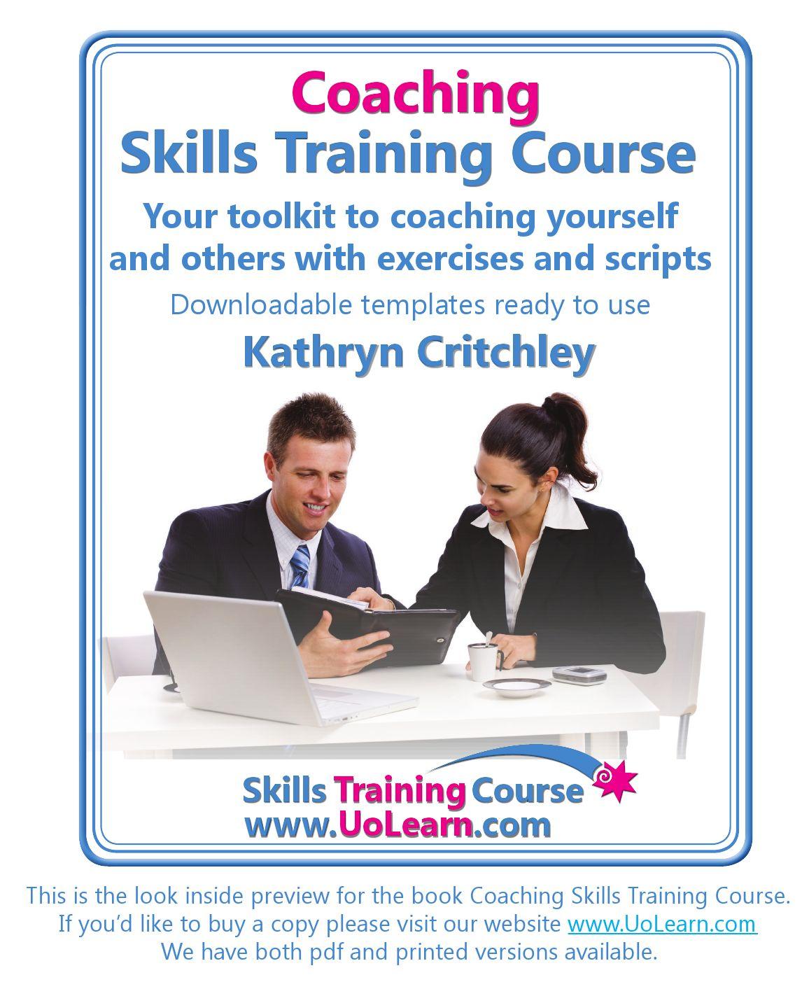coaching skills training course pdf