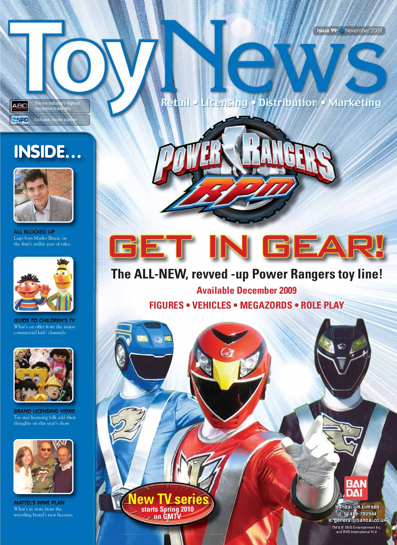ToyNews Issue 99 November 2009 By Intent Media Now Newbay Europe