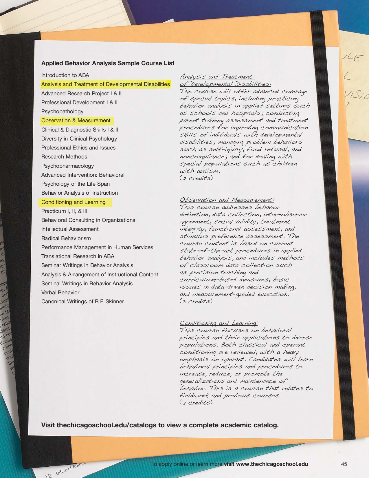 Prospectus by The Chicago School of Professional Psychology - issuu
