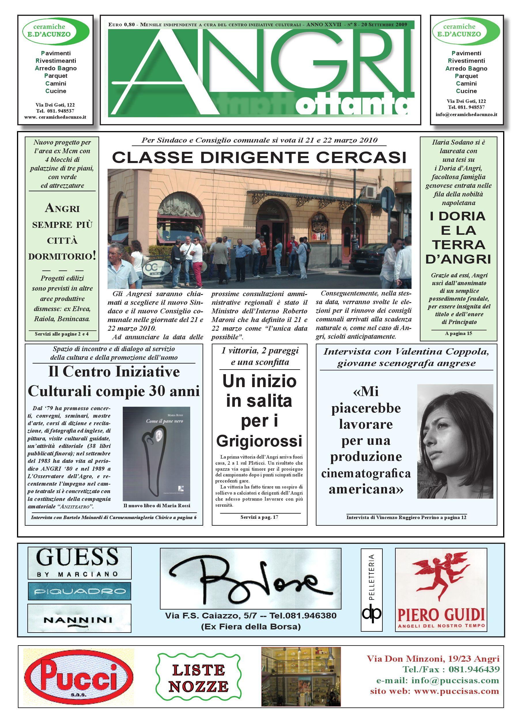 a80_sett_09 by piazzadoria piazzadoria - issuu - Arredo Bagno Angri