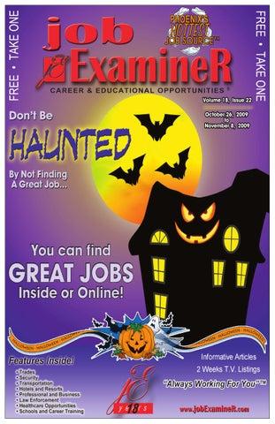 The Job Examiner 26 October 2009 Issue by Job Examiner - issuu 0613192de7015