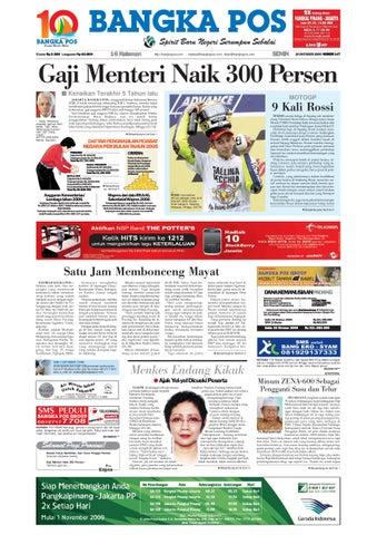 Harian Pagi Bangka Pos Edisi 26 Oktober 2009 by bangka pos - Issuu 68a6d44ac8