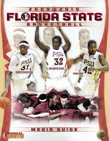 Florida State Mens Basketball Media Guide By Florida State