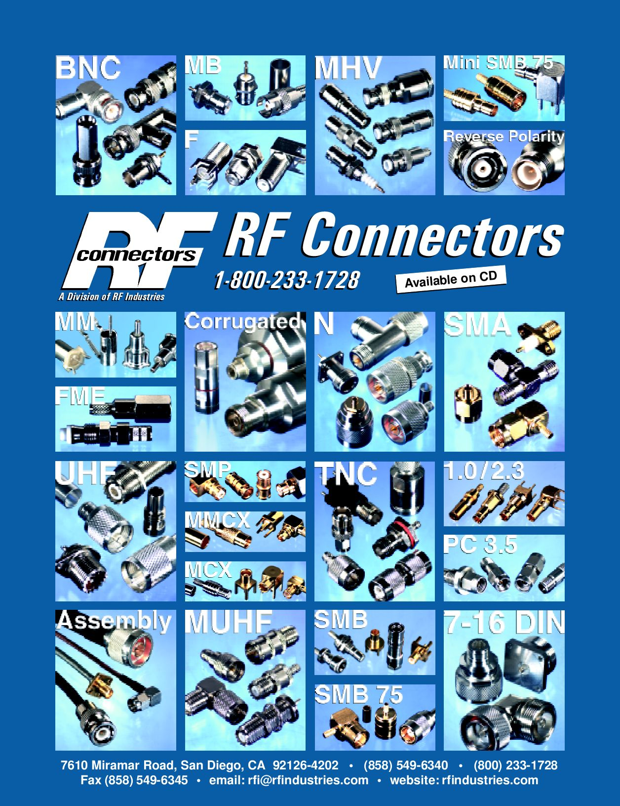 RF Connectors Amphenol by SYNsCON - issuu