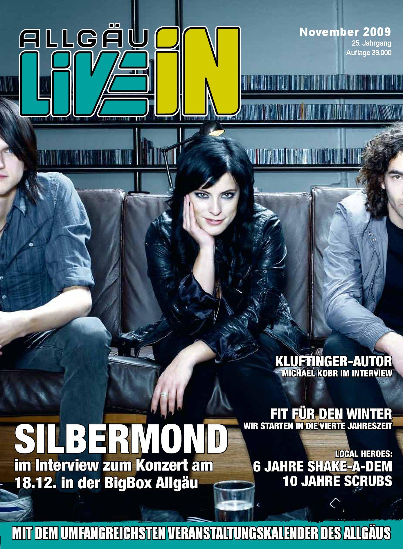 Allgau Live In Ausgabe 11 2009 By Live In Verlag Issuu