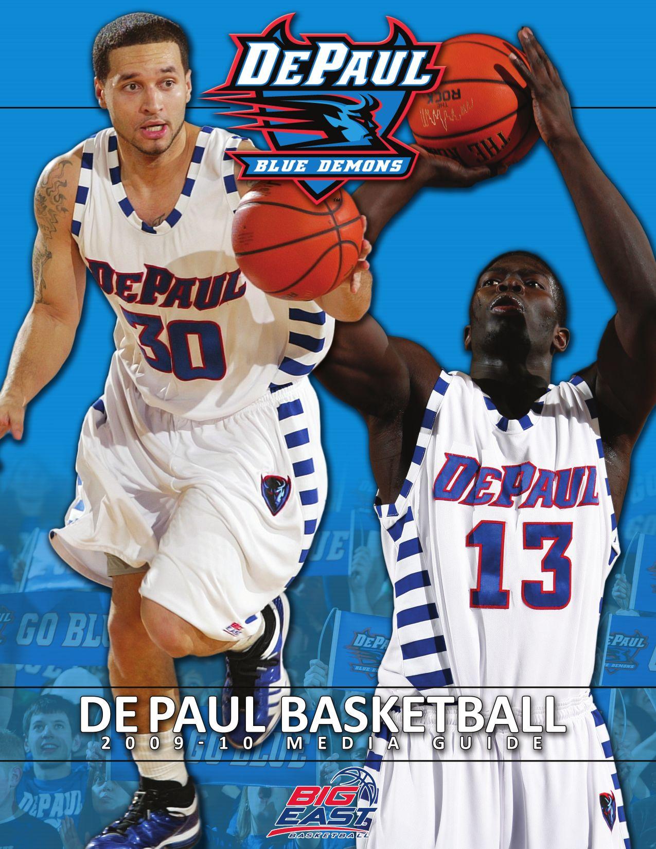 9a0446c7c995 2009-10 DePaul Men s Basketball Media Guide by DePaul Athletics - issuu