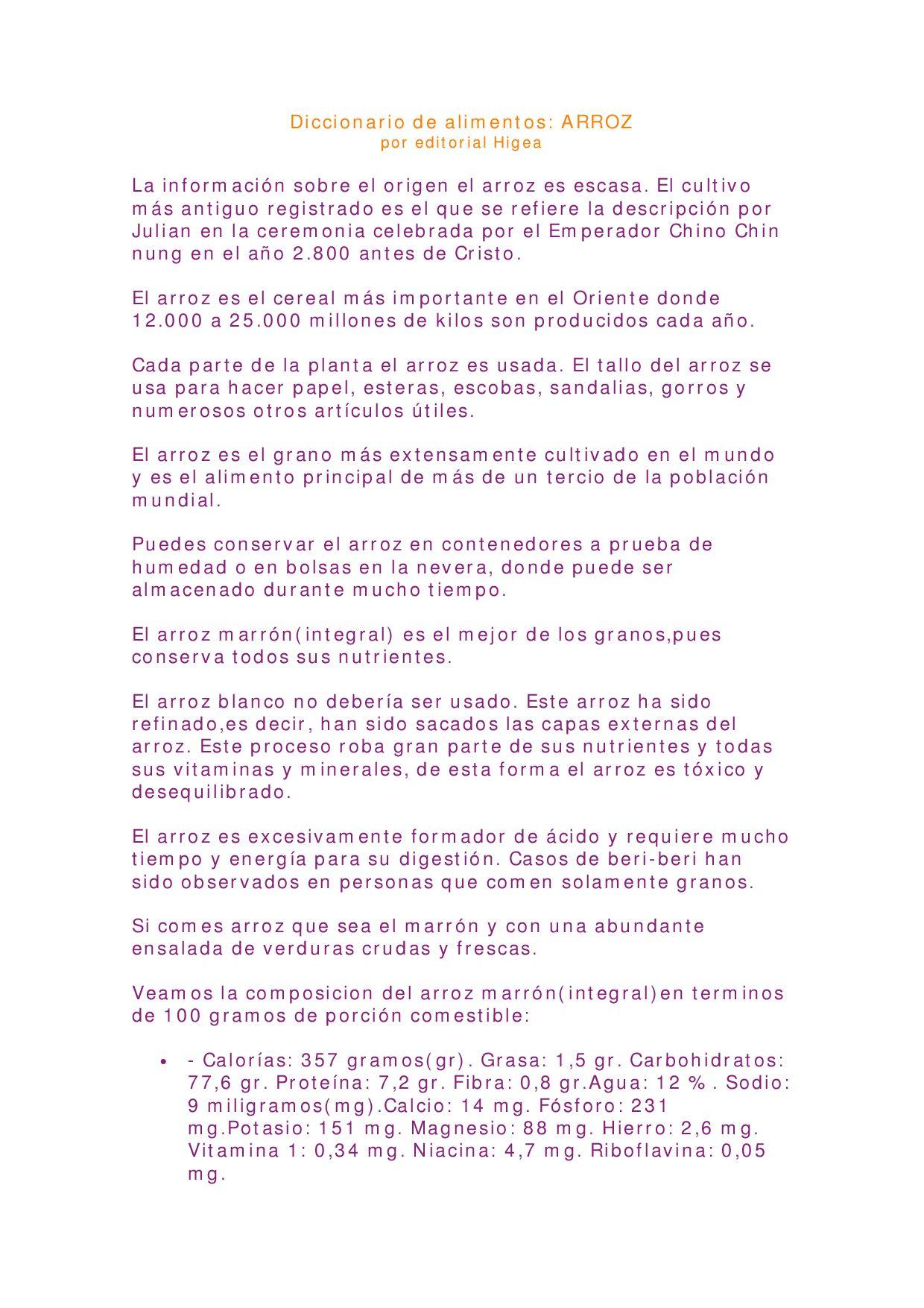 By De Mario Issuu Alimentos Fuentes Diccionario wNn0PXZ8kO