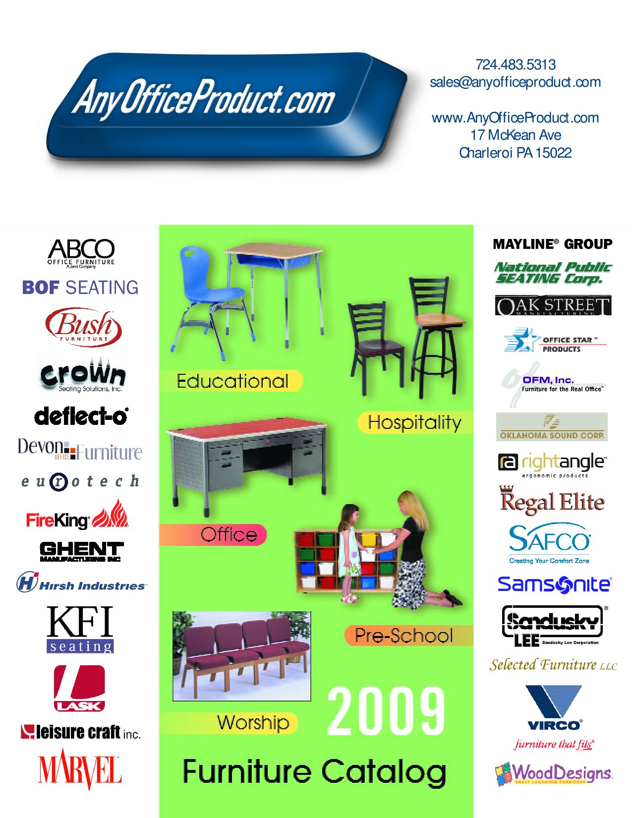 Furniture Catalog 3 by Any ficeProduct issuu