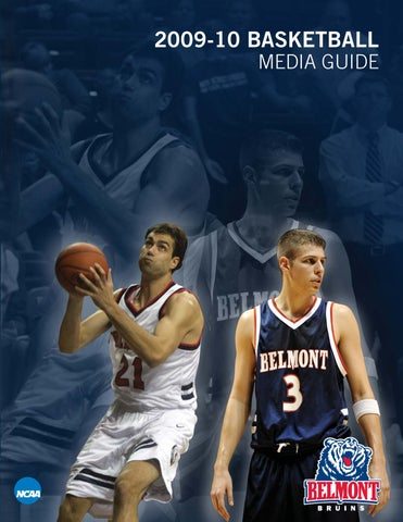 6fb0c911e14f 2009-10 Belmont Men s Basketball Media Guide by Belmont Athletics ...