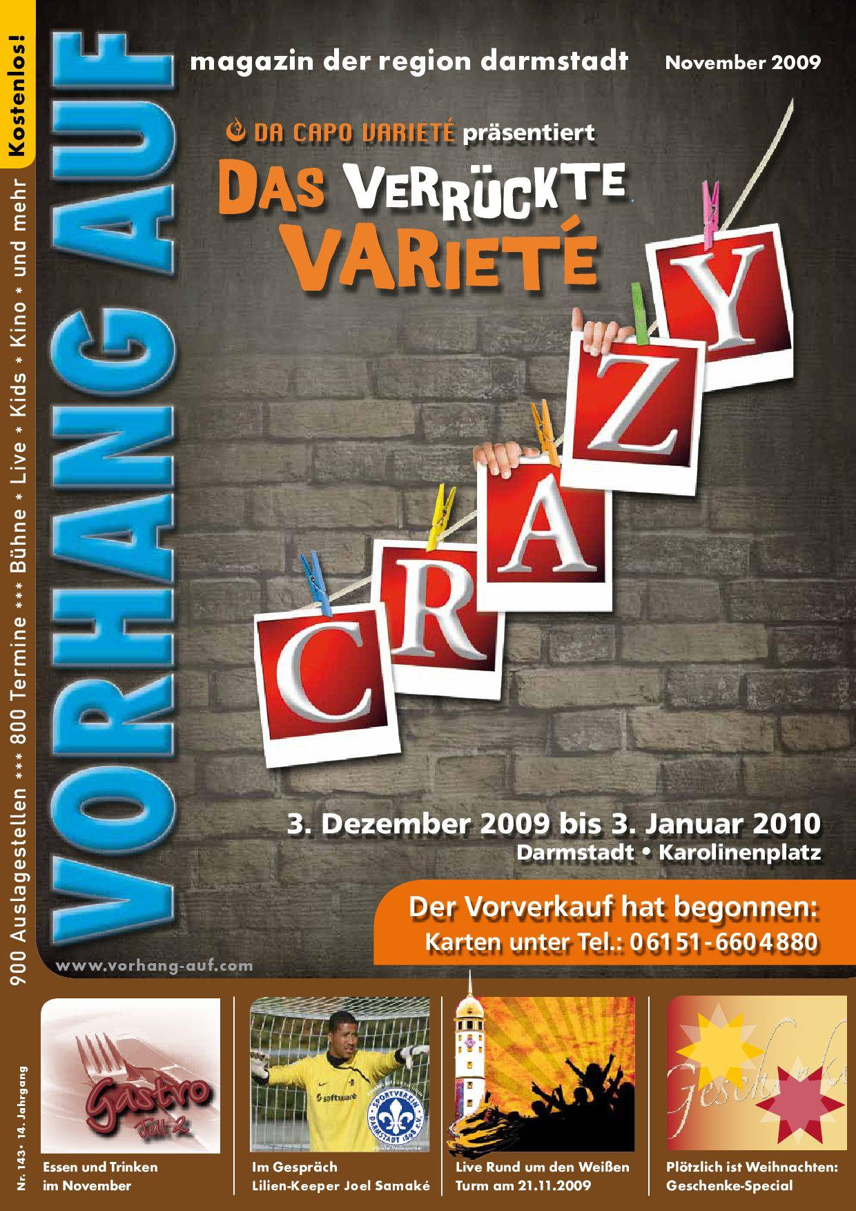 VORHANG AUF November Ausgabe by VORHANG AUF - issuu